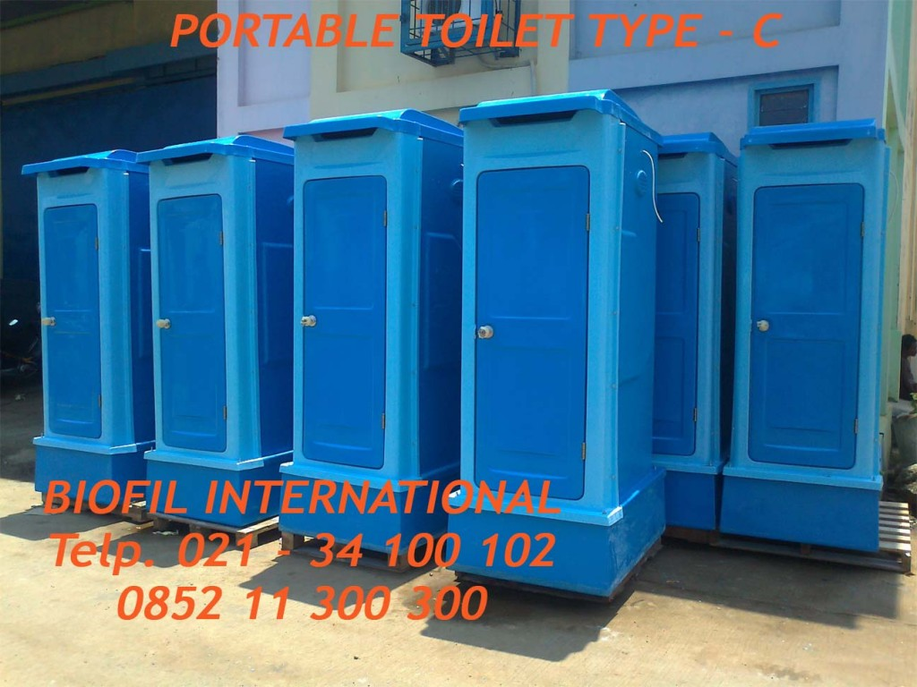 FLEXIBLE TOILET, PORTABLE TOILET BIOFIL, WC OUTDOOR, WC PROYEK, WC SEMENTARA