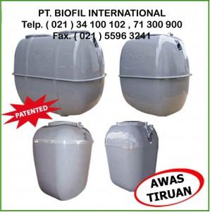 STP BIOFIL, IPAL BIOFIL, BIOFIL SEPTIC TANK